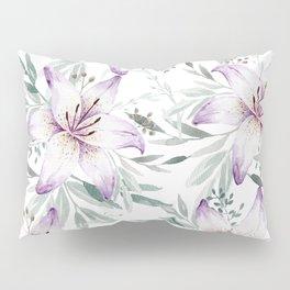 Lilium & Eucalyptus pattern Pillow Sham