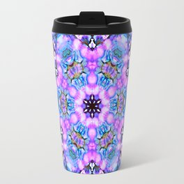 Ultra violet blue mandala Travel Mug