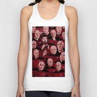 picard Tank Tops featuring Picard Day by Brian J. Smith