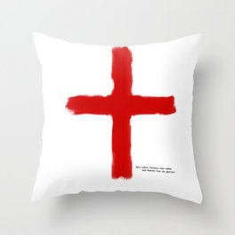 The Crusades - Temple Knights Throw Pillow