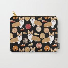 Corgi Pies - pumpkin pie, bakery, baker, cute food, pumpkin pie Carry-All Pouch
