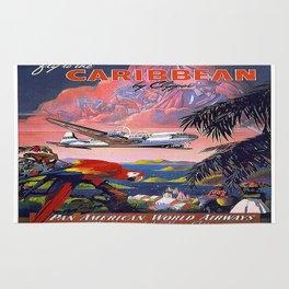 Vintage poster- Caribbean Rug