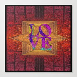 LOVE IN THE TIME OF ELEVATORS Canvas Print