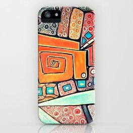 Maze of Confusion iPhone Case