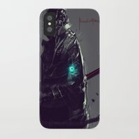 sandman iPhone & iPod Cases featuring Dark Fall Sandman by Benedick Bana