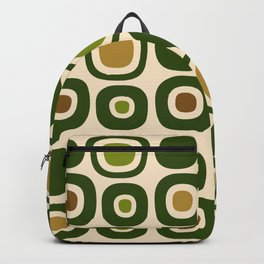 Mid Century Modern Garden Path Pattern 321 Backpack
