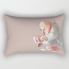 Ernest et Celestine Rectangular Pillow