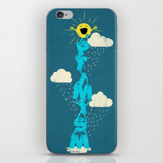Yay for Optimism! iPhone & iPod Skin