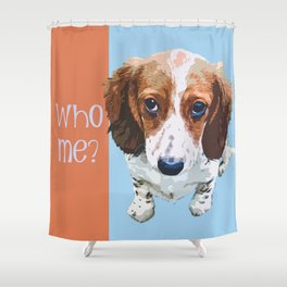Innocent/Guilty Shower Curtain