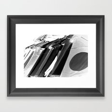 Watch where you are Framed Art Print