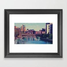 LEEDS Framed Art Print