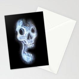 Wood Skull Stationery Cards