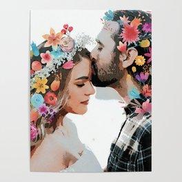 Flower lovers Poster
