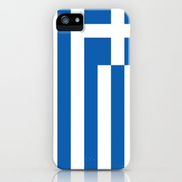 Flag of Greece iPhone Case