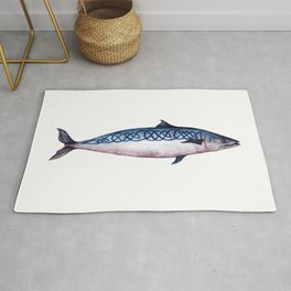 celtic mackerel Rug