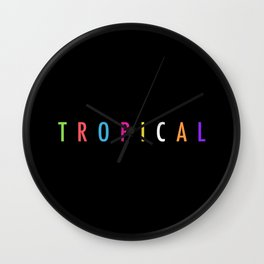 Topical '17 Wall Clock
