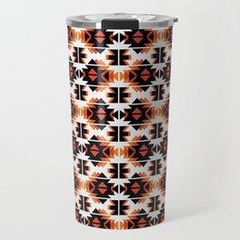 Reto Geometric in white Travel Mug