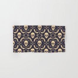 Happy halloween skull pattern Hand & Bath Towel
