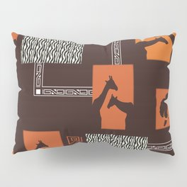 African Tribal Pattern No. 28 Pillow Sham