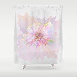 Delicate Detonation II Shower Curtain