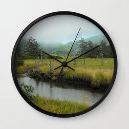 Mystery In Mist Wall Clock