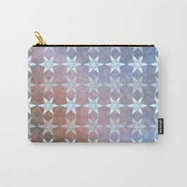 snow flakes #1 Carry-All Pouch