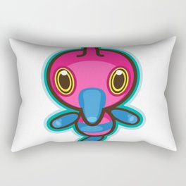 Dubious Disc Rectangular Pillow