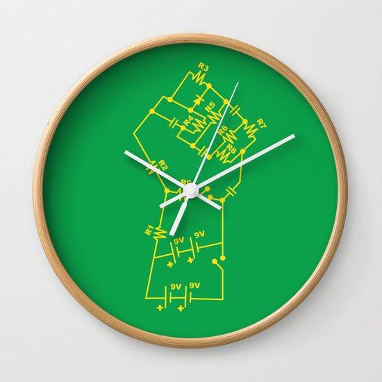Re-Volt Wall Clock