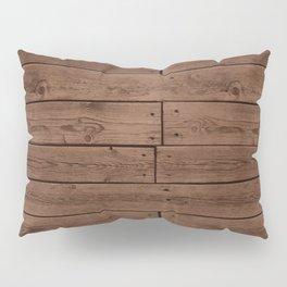 Reclaimed Floorboards Wood Pattern Pillow Sham