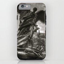 Angel with a sword iPhone Case