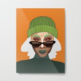 orange season Metal Print