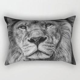 Lion Print, Woodland Nursery Print, Lion King Poster, Animal Prints, Nursery Animal Print, Printable Wall Art, Nursery Decor Rectangular Pillow