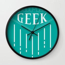 Super Geek Wall Clock