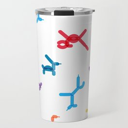 Balloon animals pattern #1 Travel Mug