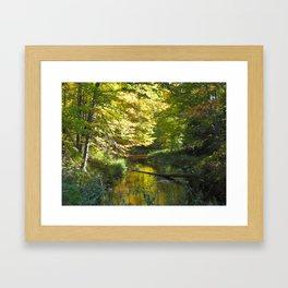 Fall in Upper Michigan Framed Art Print