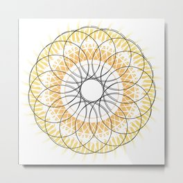 Mandala 7 Metal Print