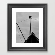 On the top Framed Art Print