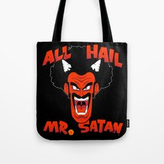 All Hail Mr. Satan Tote Bag