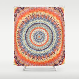 Mandala 343 Shower Curtain