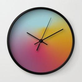 Abstract Gradient No. 10 Wall Clock