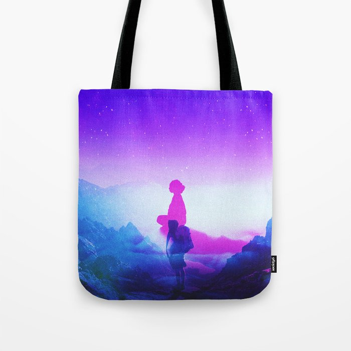 Wonder Never Cease Tote Bag