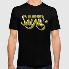 I'll Just Have a Salad Black Mens Fitted Tee SMALL