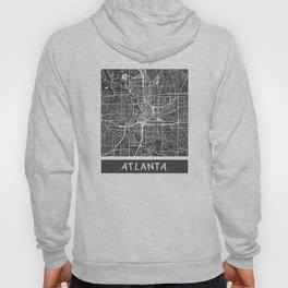 Atlanta map orange Hoody