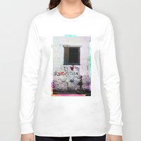 revolution Long Sleeve T-shirts featuring rEVOLution by Bärdie D/Sign