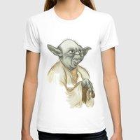 yoda T-shirts featuring YODA by carotoki art and love