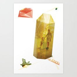 Crystal Planes #2 Art Print