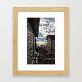 hostel not hostile Framed Art Print