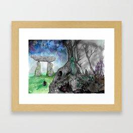 Portal to the Otherworld Framed Art Print