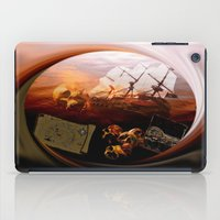 pirates iPad Cases featuring Pirates  by valzart