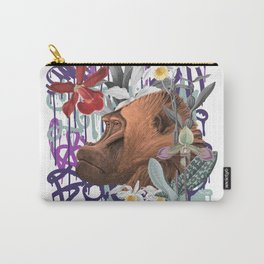 Graffiti Gorilla Jungle Monkey Carry-All Pouch